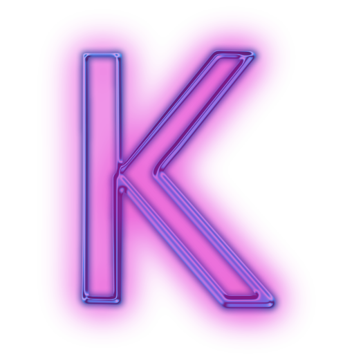 Free High quality Letter K Icon