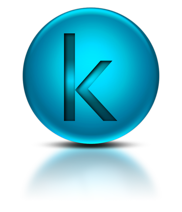 Letter K Png Download Icon image #21801