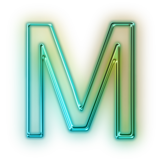 Letter M Icon Png image #21861
