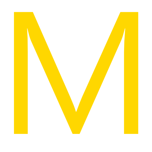 Letter M Icon Free image #10576