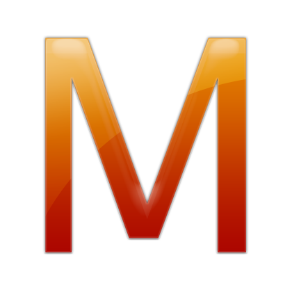 Letter M Icon Png image #21870