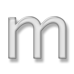 Letter M Icon Png image #21879