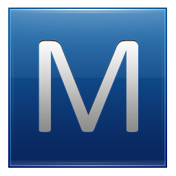 letter m icon png