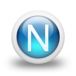 Pictures Icon Letter N