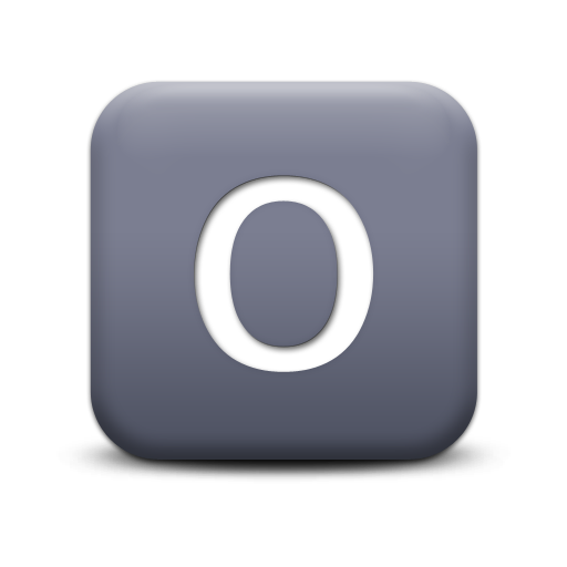 Free High-quality Letter O Icon image #20905