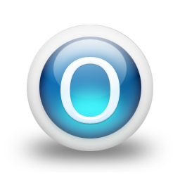 Letter O Vector Icon image #20913