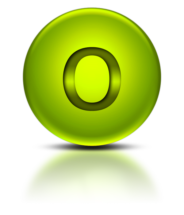 Vector Free Letter O Png Download image #20914