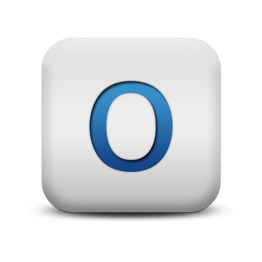 Letter O Download Png Icon image #20918