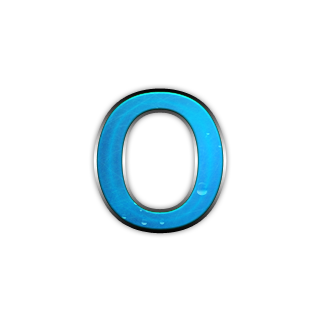 Download Letter O Ico image #20924