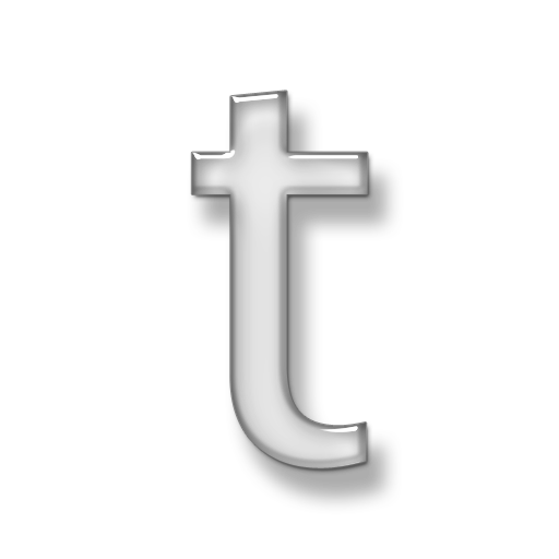 Letter T Icon Image Free image #11488