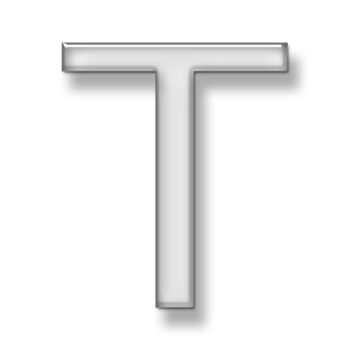 Hd Letter T Icon image #11490
