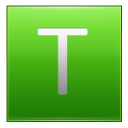 Vector Icon Letter T image #11481