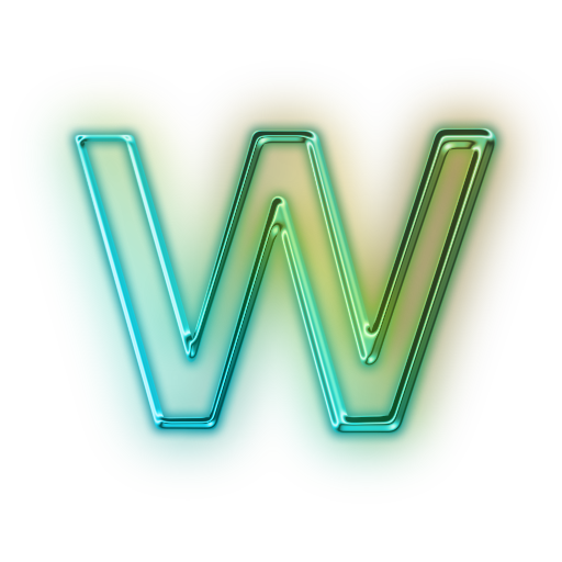 letter w icon png