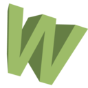 Letter W Svg Icon image #8965
