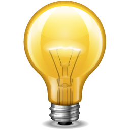 Light bulb Icon | Or Application Iconset | IconLeak