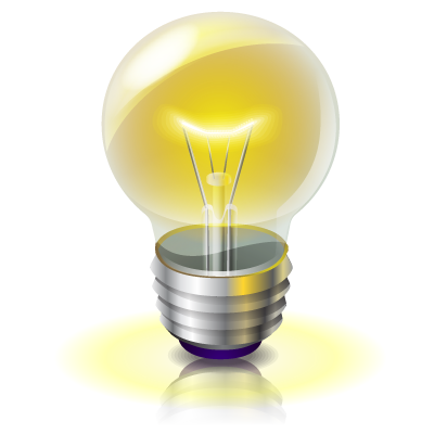 Light Bulb Idea Png Light bulb idea. 400 x 400