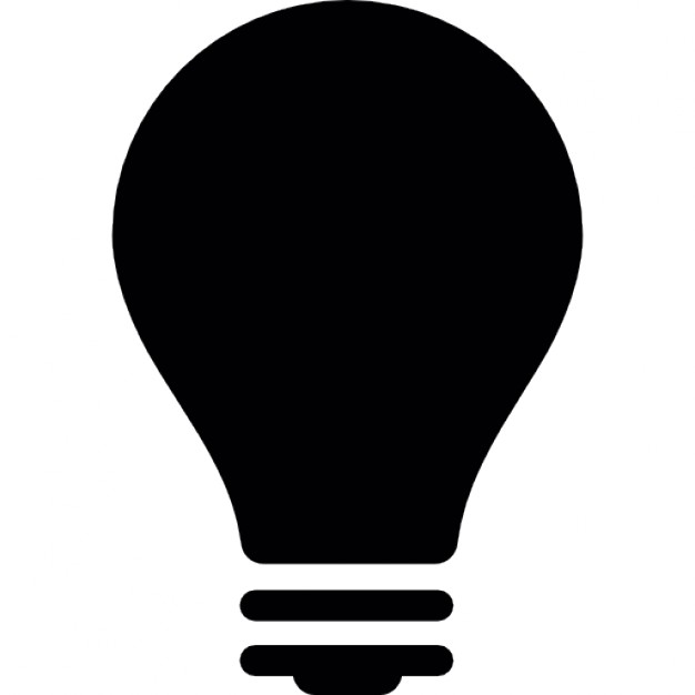 light bulb off icon