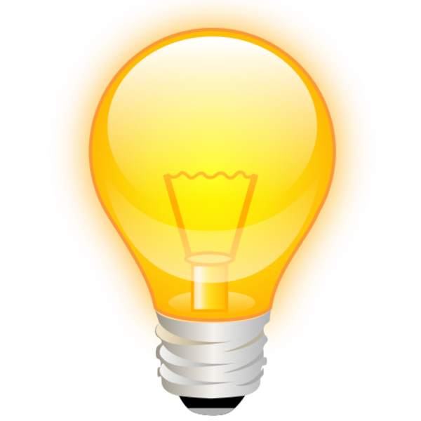HD Lightbulb PNG