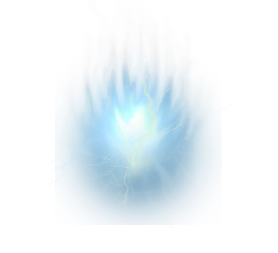 Light energy ball png