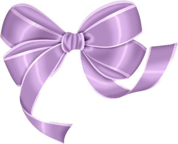 Light Purple Bow PNG Transparent image #44516