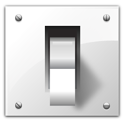 Vector Icon Light Switch 256x256, Light Switch HD PNG Download