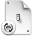 Transparent Light Switch Icon