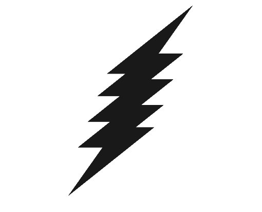 Lightning Bolt Icon image #4557