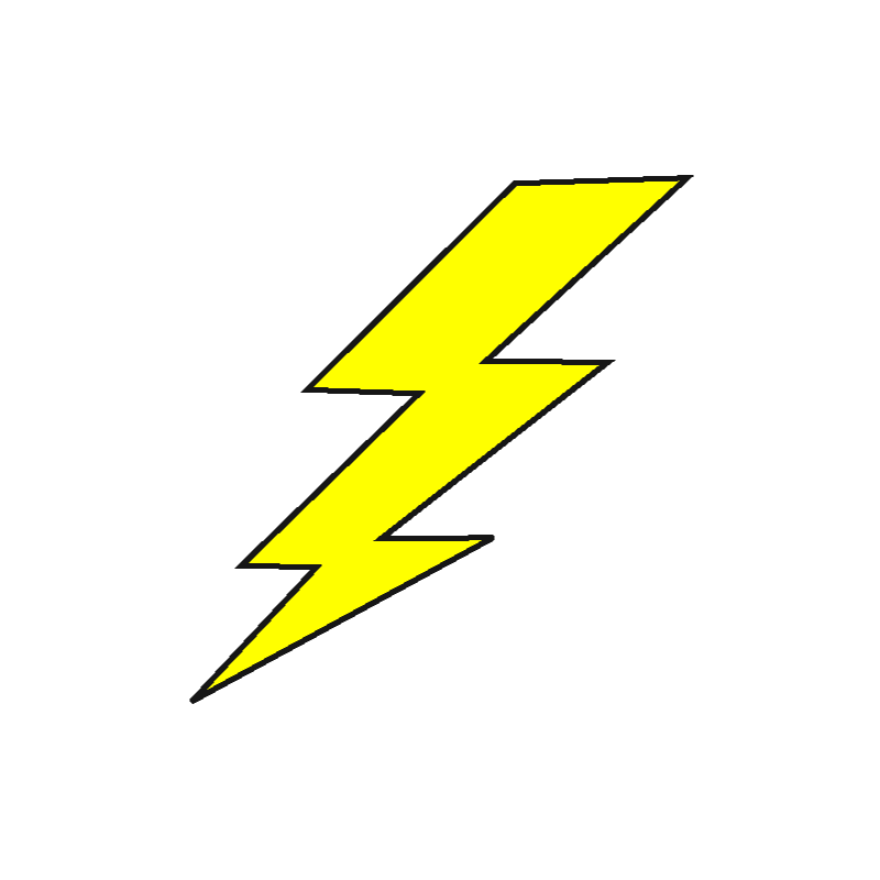 High-quality Lightning Bolt Cliparts For Free! image #34124