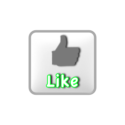 Png Format Images Of Like Button