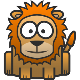 Lion Drawing Icon image #29205