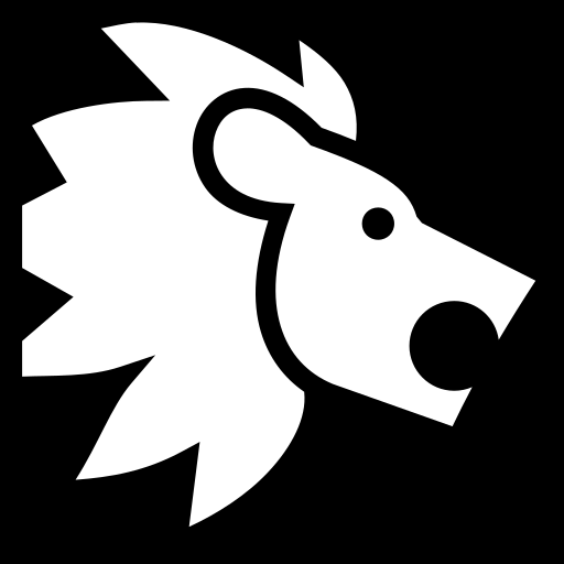 Lion Simple Png image #29208