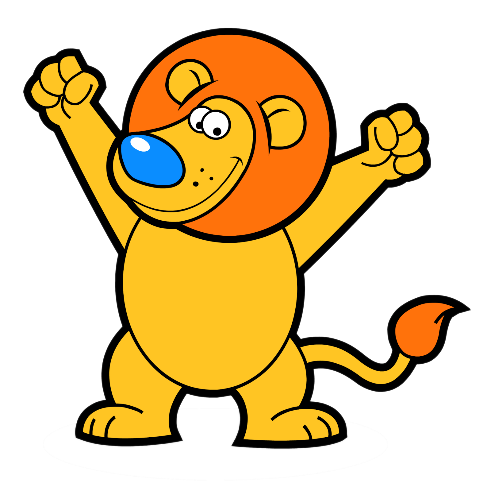 Lion New cartoon character PNG pictures