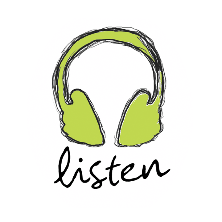 Listen Download Icon image #9957