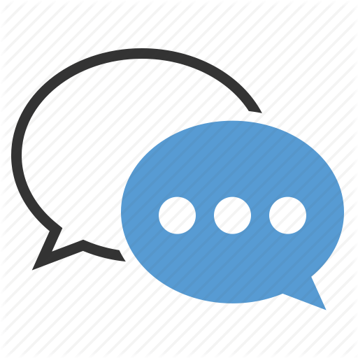 Live Chat Symbol Icon image #7407