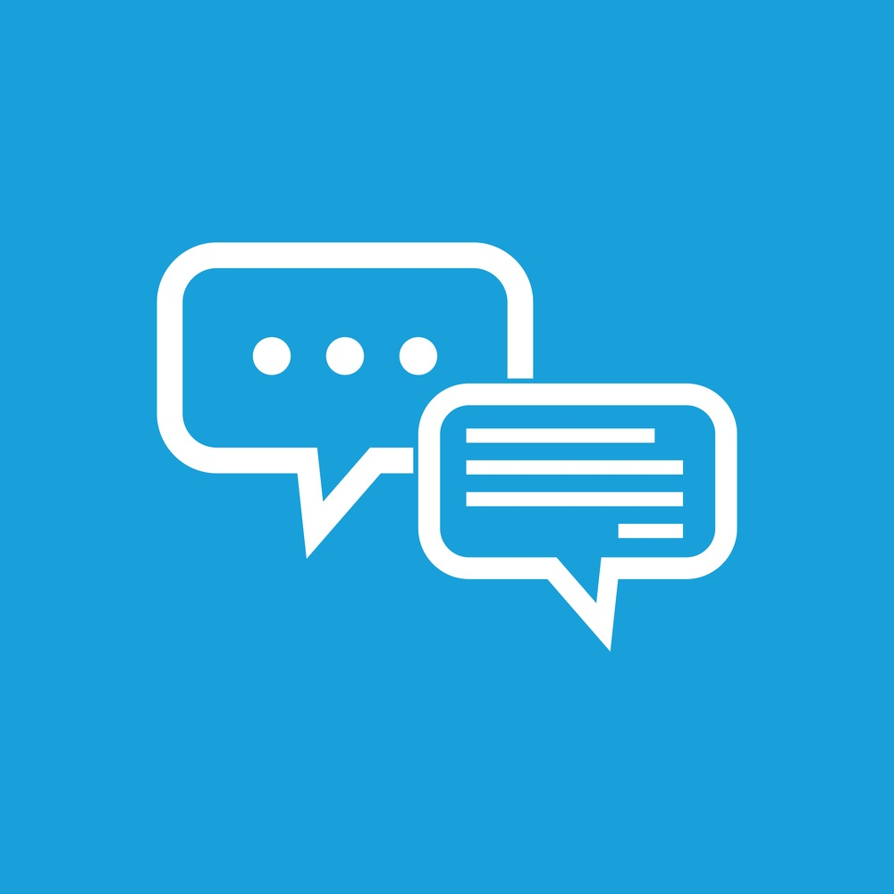 Vector Icon Live Chat image #7408
