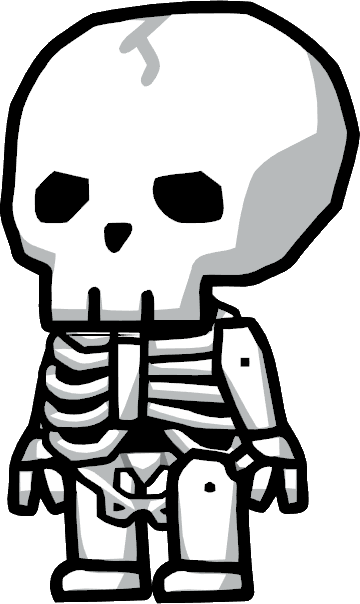 Living Skeleton png