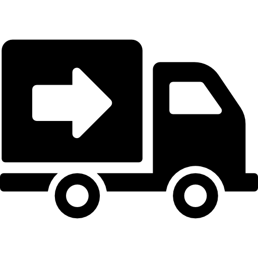 Logistics truck icon png