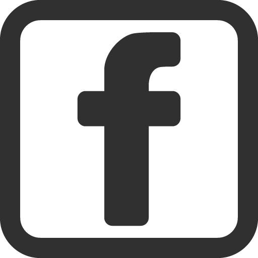 Logo Facebook Black Icon Symbol