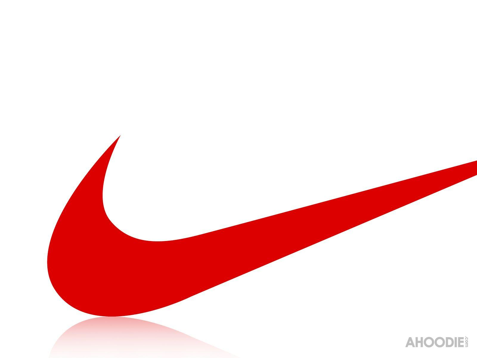 logo nike red transparent png