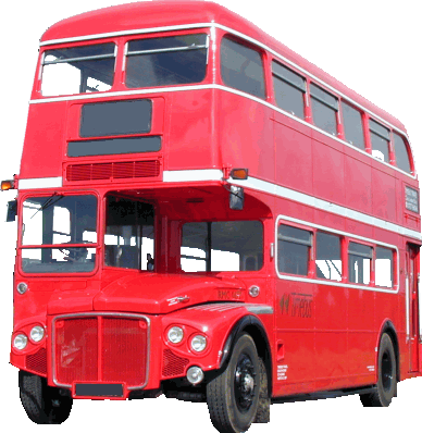 london bus png