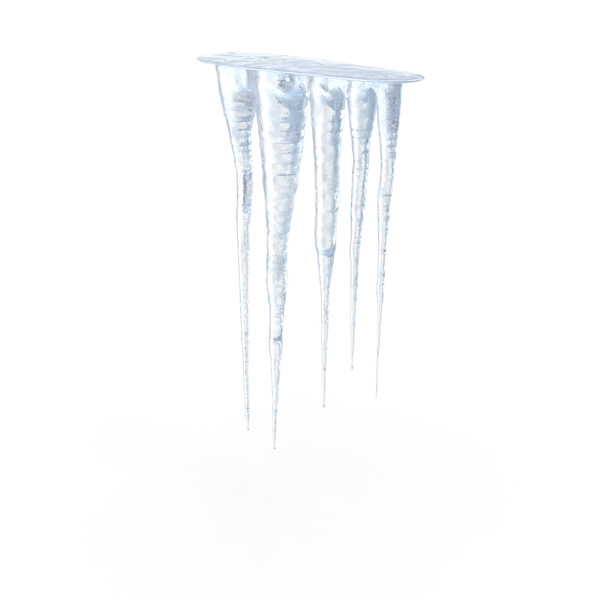 Long Icicle Transparent Photo image #48602