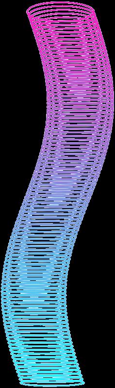Long Slinky Png image #43478