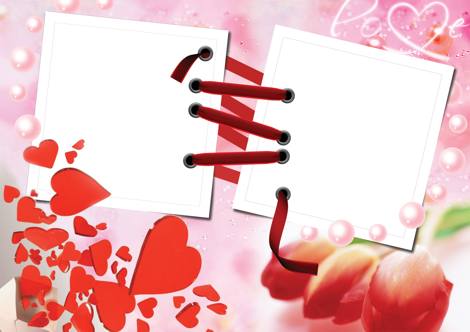 Love Frame Photoshop Background Png image #24723