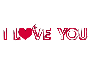 Free Download Of Love Text Icon Clipart
