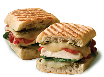 Lunch Panini Sandwiches
