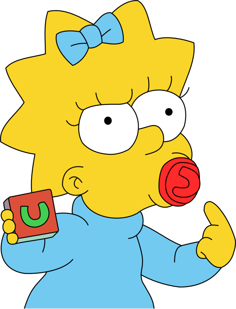 Get Maggie Simpson Png Pictures image #39292