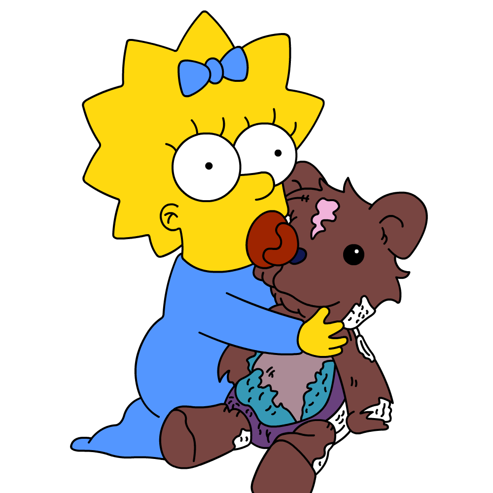 High Resolution Maggie Simpson Png Clipart image #39296