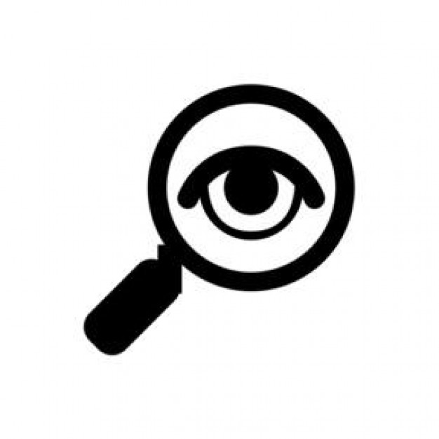 Icon Magnifying Glass Svg image #26779