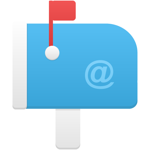 Icon Vector Mail Box image #20524