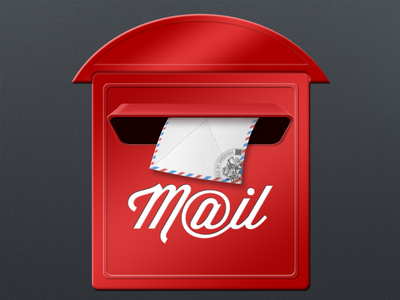 Free High-quality Mail Box Icon image #20530